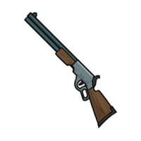 FoS lever-action rifle