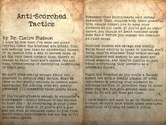 Anti-Scorched tactics