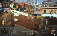 FO4 Bugs Superposition carbine & table (Big John's salvage)