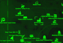 FO4 map ArcJet systems