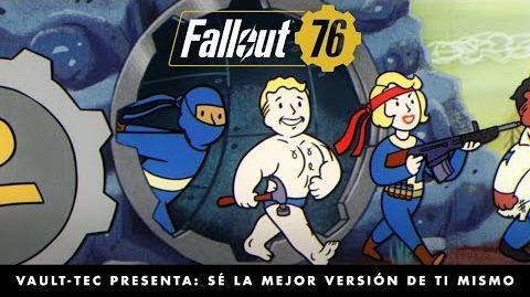 Fallout 76 – Vault-Tec presenta Sé la mejor versión de ti mismo (vídeo sobre los extras).