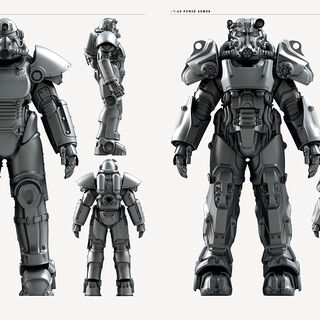 <i>Fallout 4</i> power armor concept art