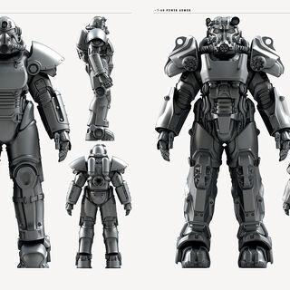 Fallout 4 Power Armor Concept Art