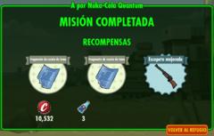 FoS A por Nuka-Cola Quantum recompensas
