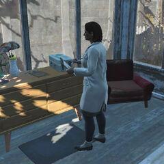 Доктор Патріція на робочому місці