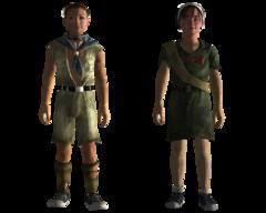 Wasteland scout uniform