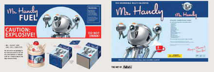 FO4 Mr Handy Art Book