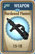 FoS Hardened Flamer Card