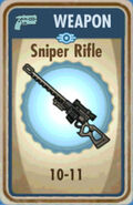 FoS Sniper Rifle Card