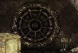 Vault 106 door geck