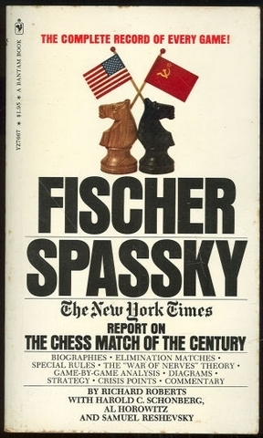 1972wc Fischer vs Spassky The New York Times book
