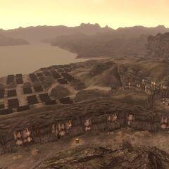 Вид на недоступну частина Форту