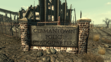 Germantown police HQ | Fallout Wiki | FANDOM powered by Wikia