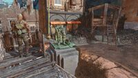 FO4 Statue destroyed DB tech