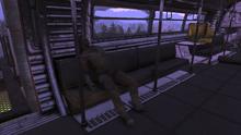 FO76 settler train car