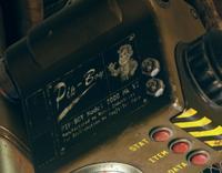 Fallout76 Teaser Pip-Boy 2000 Mark VI Nameplate