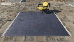 Fo4 Rug with chair