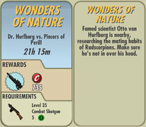 FoS Wonders of Nature card