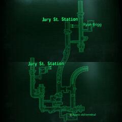 Metro Jury St Tunnels