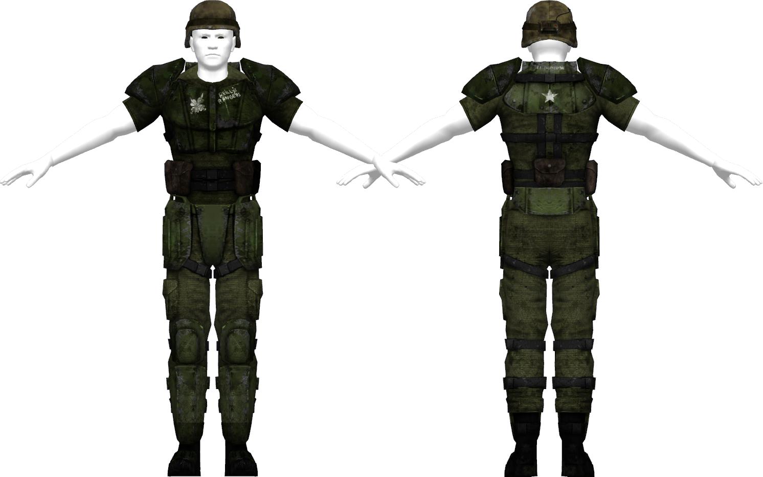 Ranger Battle Armor Fallout Wiki Fandom Powered By Wikia