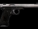 Silenced .22 pistol