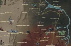 Tanagra Town map