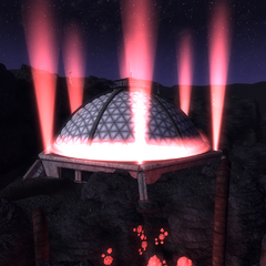 «Купол Забороненої зони» вночі