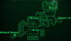 Experimentation Lab map