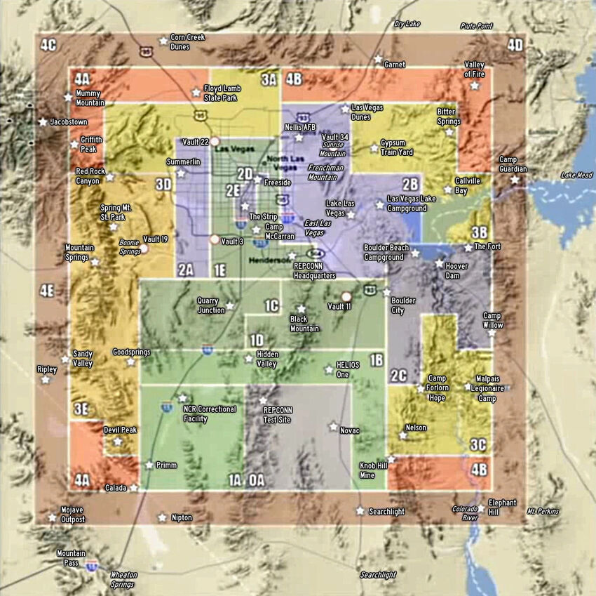 FNV Early map