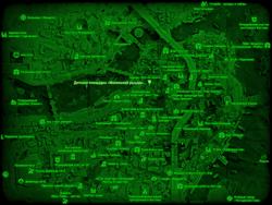 FO4 Детская площадка «Маленький рыцарь» (карта мира)
