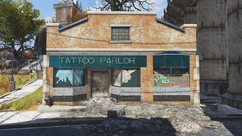 FO76 Big Al's Tattoo Parlor