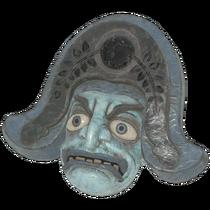 Faschnacht soldier mask