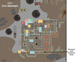 Fo4 Survival Guide Saugus Ironworks map (ru)