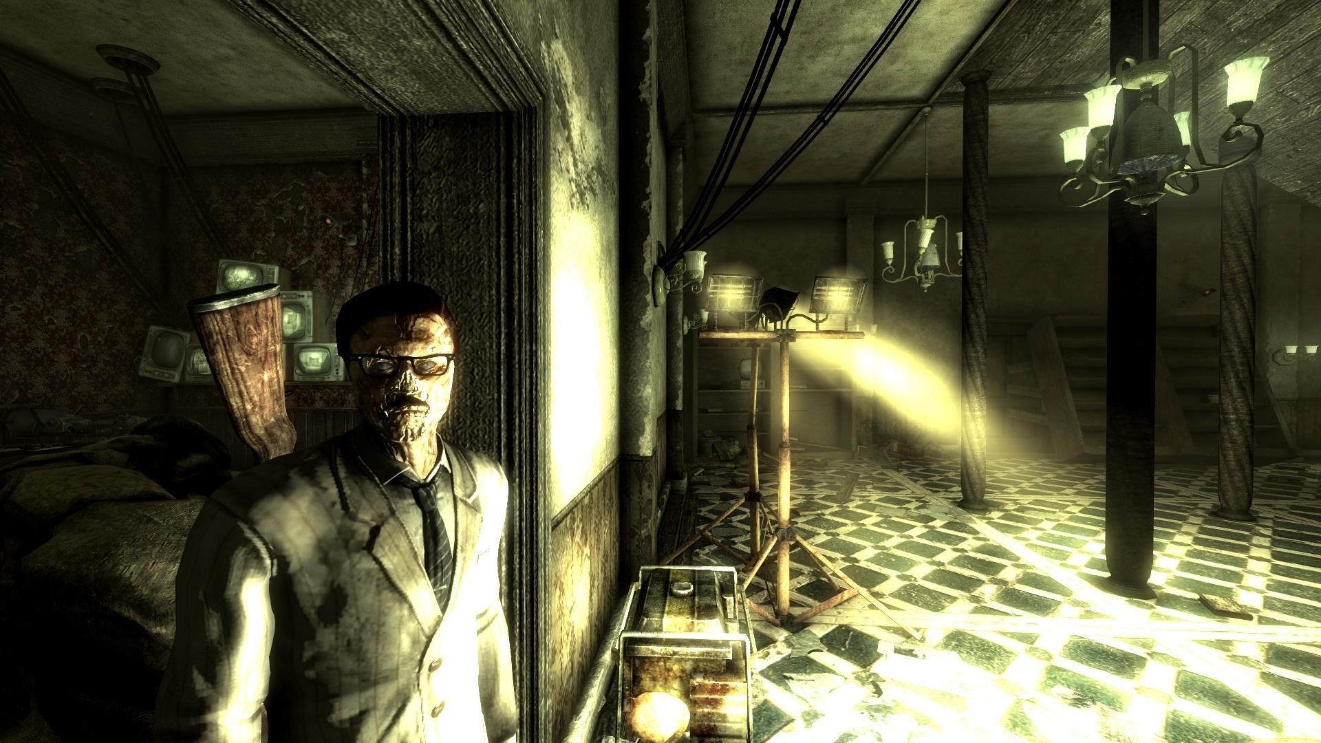 Desmond in the Calvert Mansion