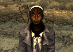 FO3 Stacey w cap