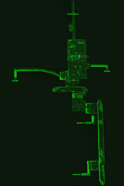 Fo4NW Employee tunnels map