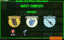 FoS Guardian of the Wastes Radscorpions! rewards