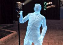 Holograma de dean-domino
