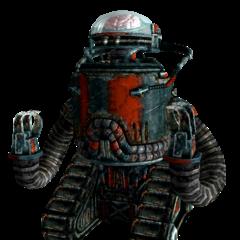 Outcast robobrain in <i>Fallout 3</i>