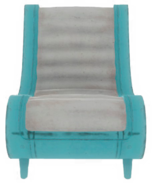 FO4VW Clean blue chair