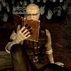 Джошуа Грехем читає Святе Письмо