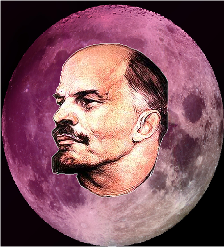 Paint the moon pink