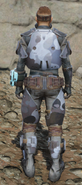 Urban scout armor back