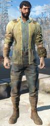 FO4 Потрепанный костюм Дьякона
