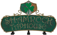 FO4 Shamrock Taphouse sign