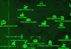 FO4 map Fiddler's Green