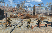 Fo4 rotten landfill super mutants and prisoner