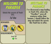 FoS Welcome to Paradise card