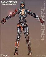 New art 7 metal armor