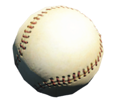 Collectible baseball